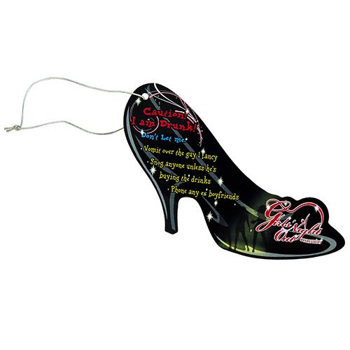 Black Caution I Am Drunk Heel Send Me Home Label