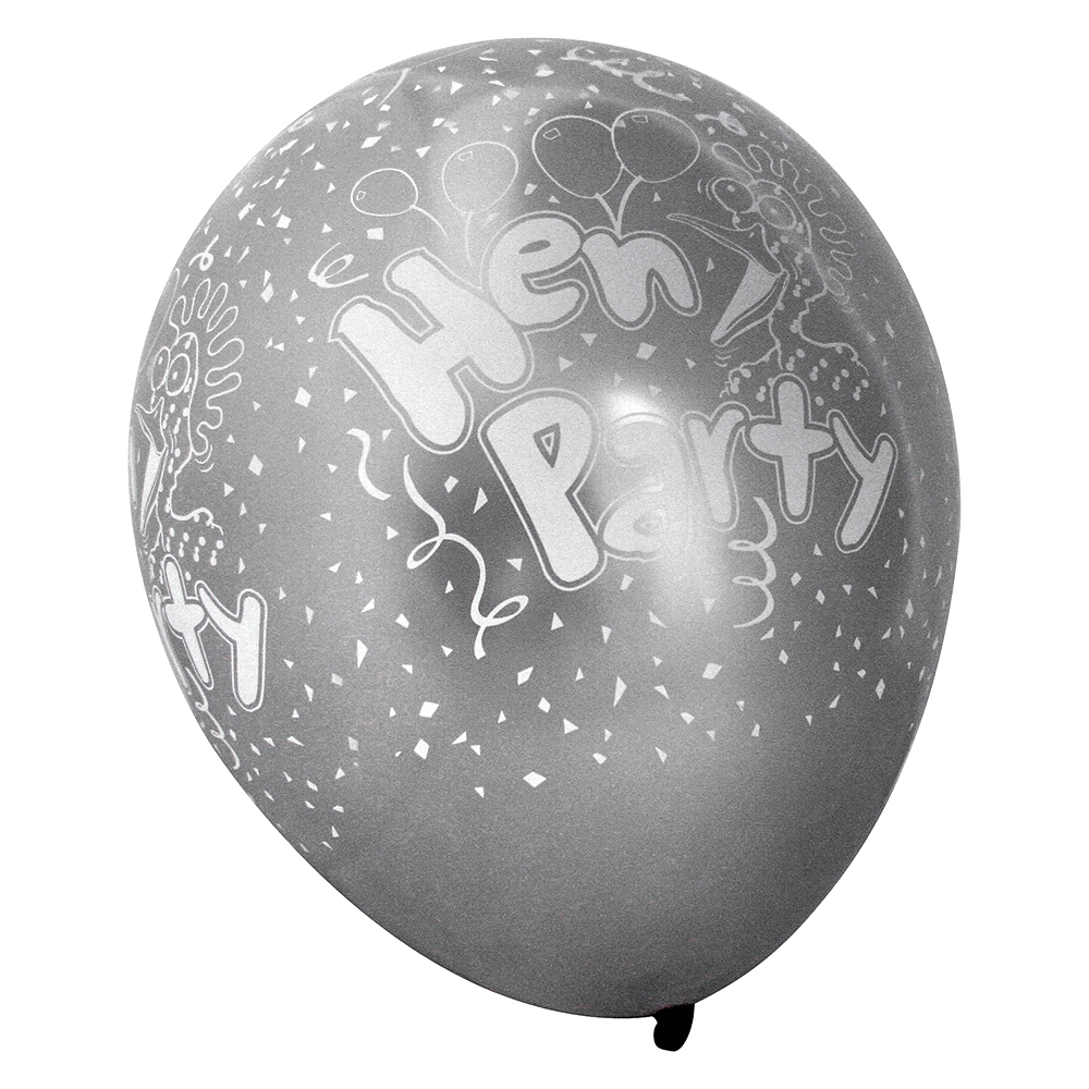 Pearlised Hen Party Balloons