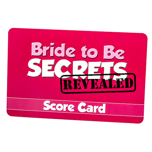 Immensely Entertaining Bride To Be Secrets Game