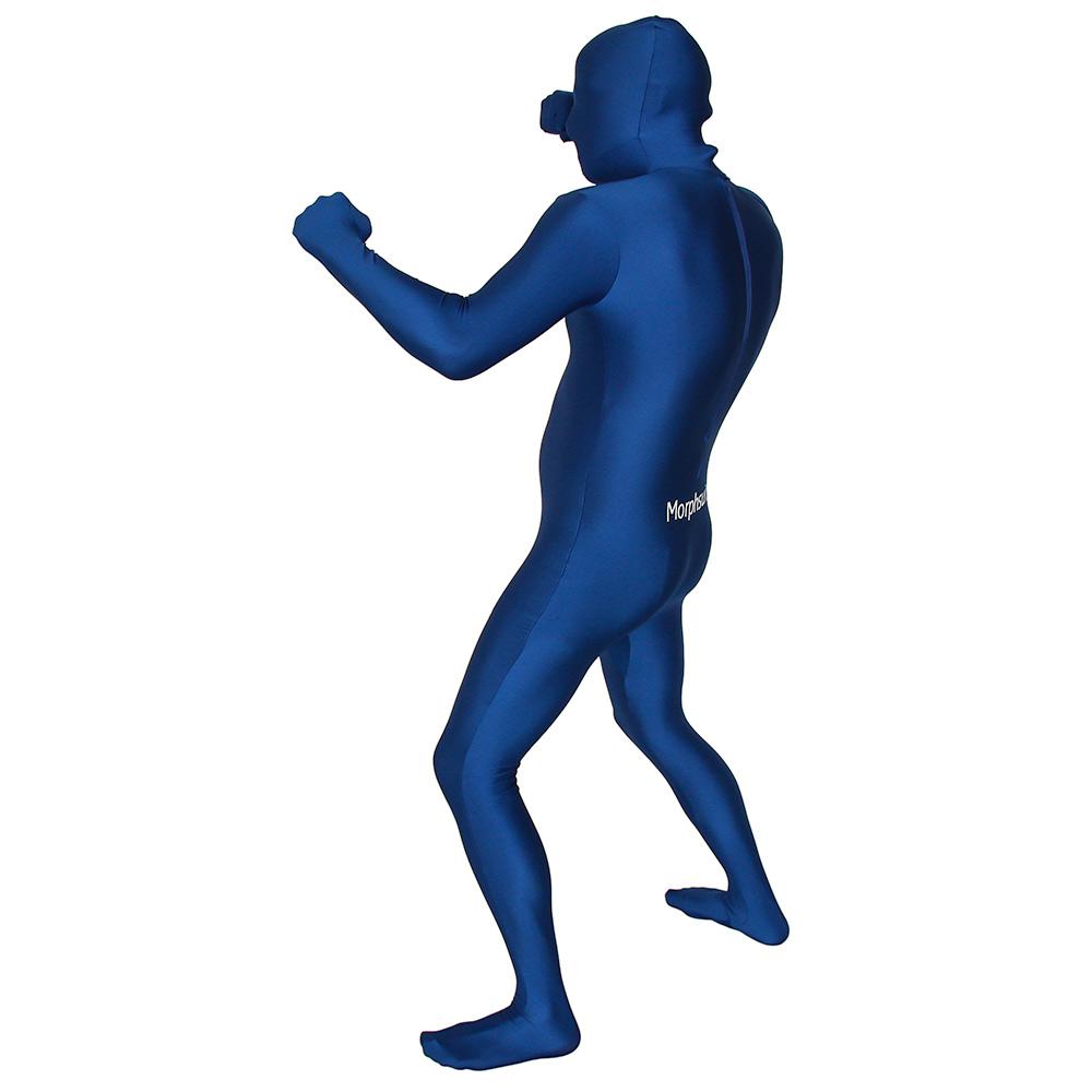 Blue Morph Suit