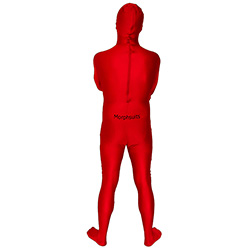 Back Of Red Morphsuit