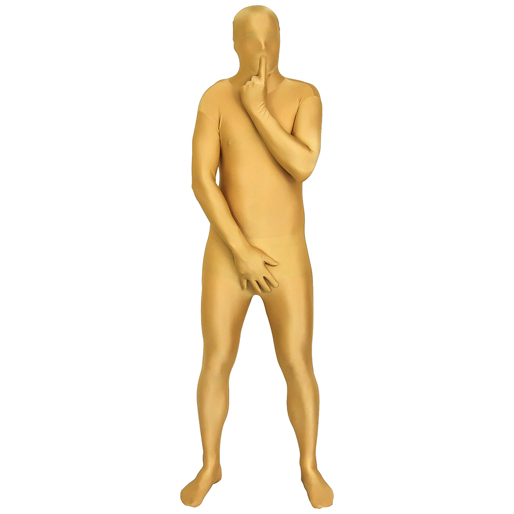 Gold Morphsuit Shh