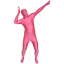 Pink Morphsuit - Great Fancy Dress Costume
