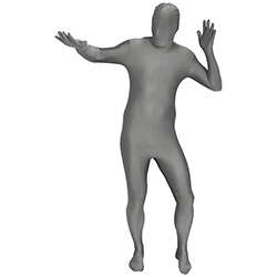 Silver Morphsuit Stance