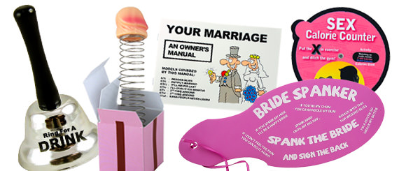 Novelty Gifts for the Bride