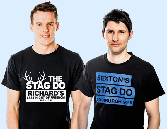 6157f6b16 Personalised Stag Do T-shirts from £5.99 - Printed in 48hr | Last Night of  Freedom - Printed in 48 Hours | Last Night of Freedom