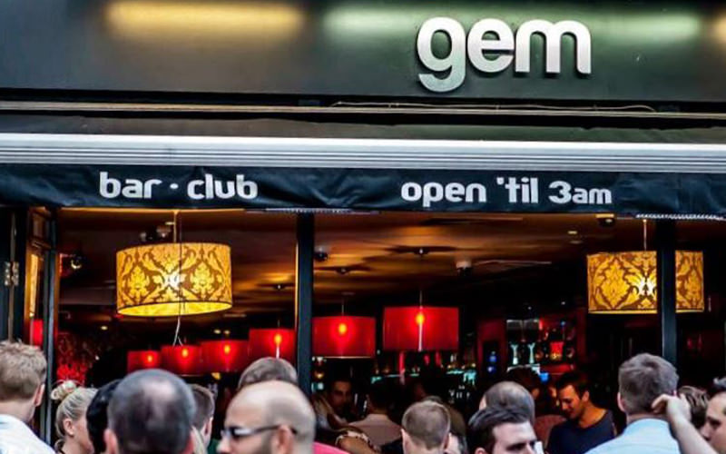 Exterior Gem Bar London