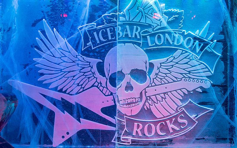 ICEBAR London Rocks logo