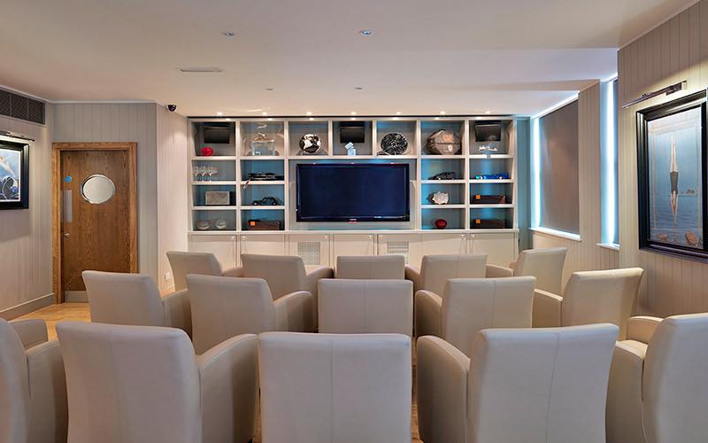 VIP club cinema at Beaurfot House, London