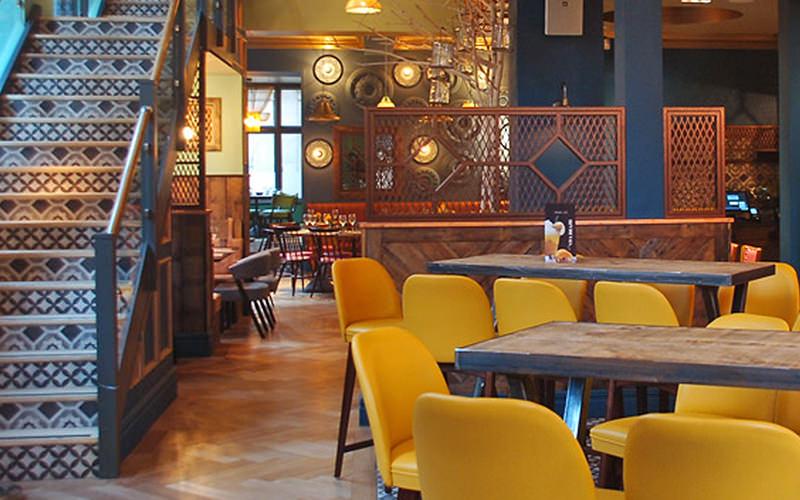 The interiors of Liverpool's Viva Brazil