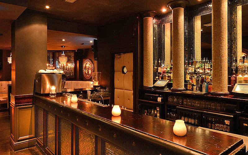 The bar at Opal, London